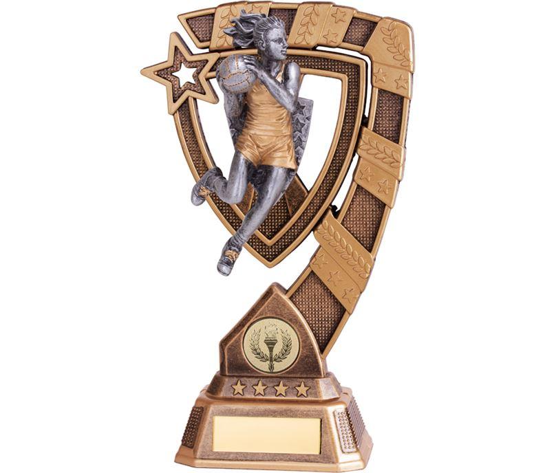 "Euphoria Netball Trophy 21cm (8.25"")"