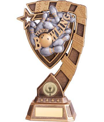 """Euphoria Tenpin Bowling Trophy 15cm (6"""")"""