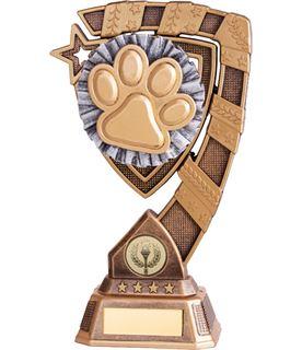 "Euphoria Dog Agility Trophy 18cm (7"")"