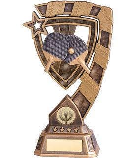 "Euphoria Table Tennis Trophy 15cm (6"")"