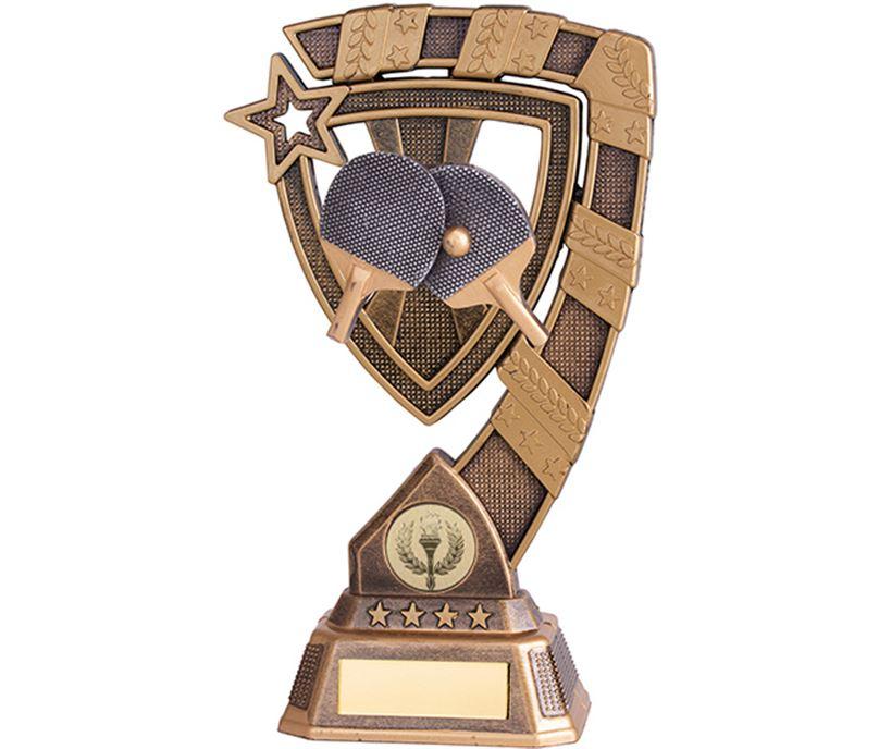 "Euphoria Table Tennis Trophy 13cm (5"")"