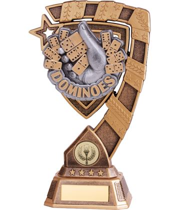 "Euphoria Dominoes Trophy 15cm (6"")"