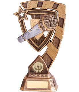 "Euphoria Karaoke Trophy 21cm (8.25"")"