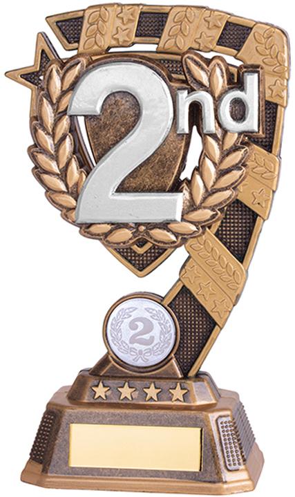 "Euphoria 2nd Place Trophy 13cm (5"")"