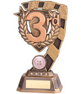 """Euphoria 3rd Place Trophy 18cm (7"""")"""