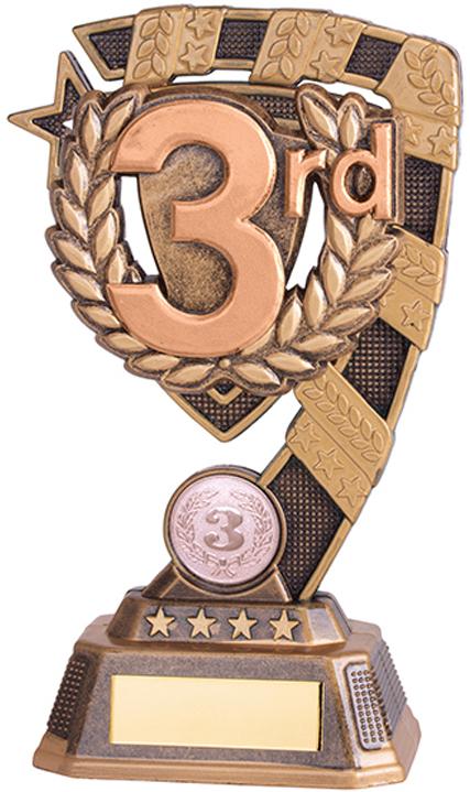 """Euphoria 3rd Place Trophy 13cm (5"""")"""