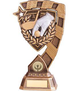 "Euphoria Golf Trophy 18cm (7"")"