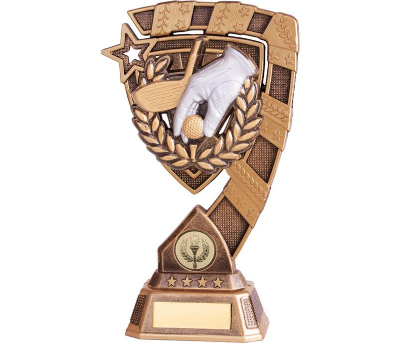 "Euphoria Golf Trophy 21cm (8.25"")"