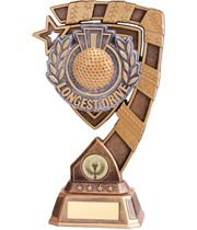 "Euphoria Longest Drive Golf Trophy 15cm (6"")"