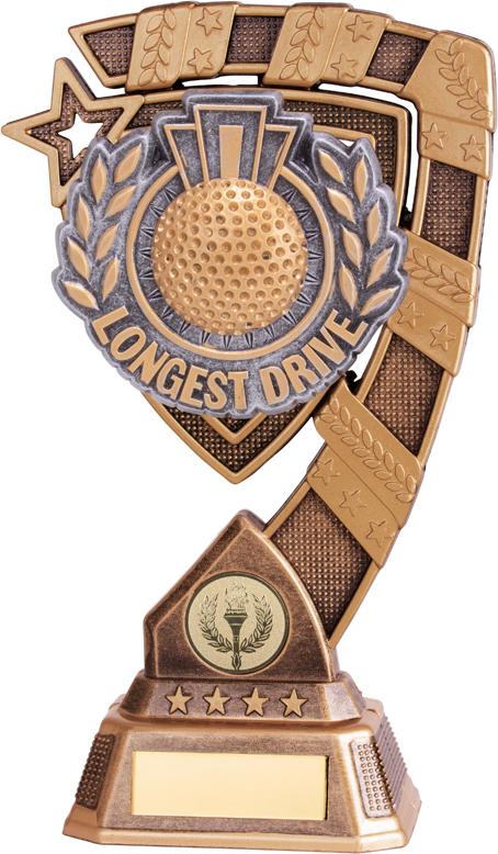 "Euphoria Longest Drive Golf Trophy Trophy 13cm (5"")"