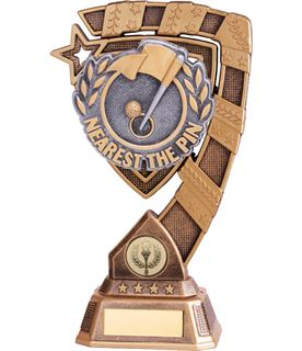 "Euphoria Nearest The Pin Golf Trophy 15cm (6"")"