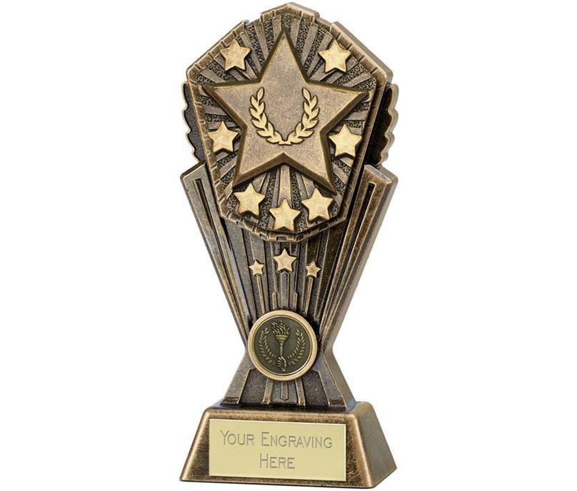 """Cosmos Multi Award Star Trophy 17.5cm (7"""")"""
