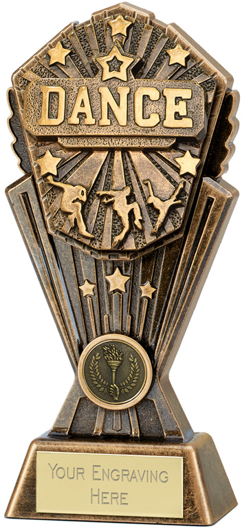 "Cosmos Dance Trophy 17.5cm (7"")"