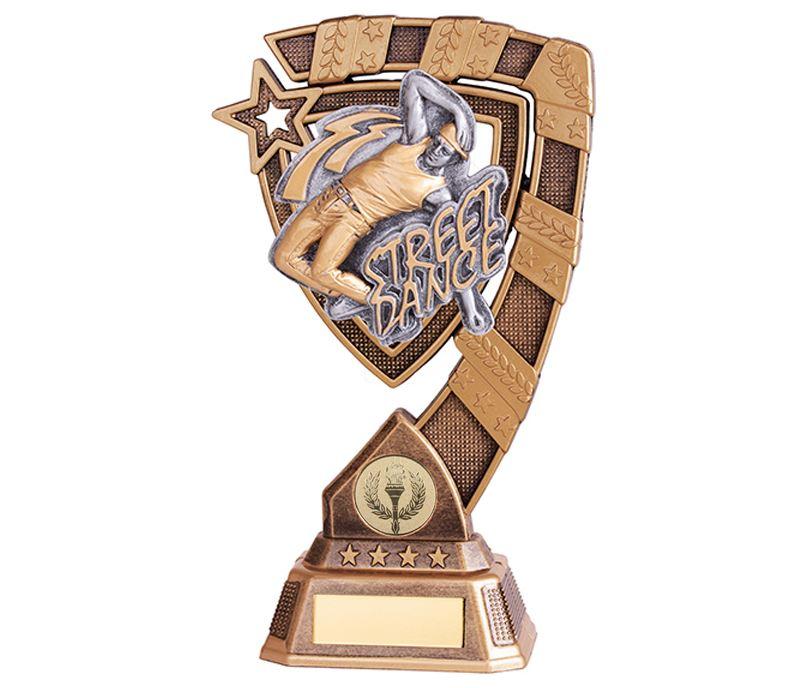 "Euphoria Male Street Dance Trophy 18cm (7"")"