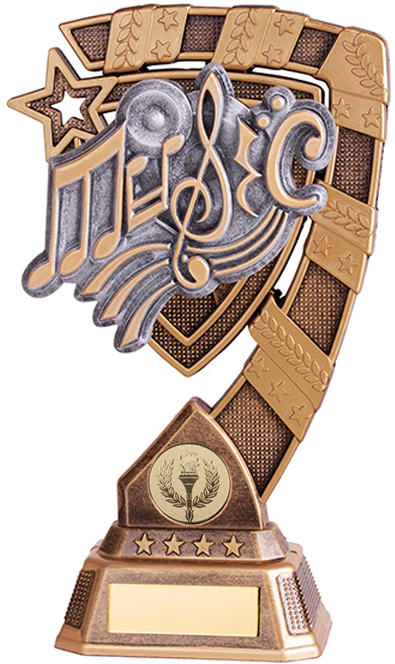 "Euphoria Music Trophy 13cm (5"")"