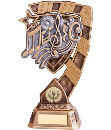 "Euphoria Music Trophy 15cm (6"")"