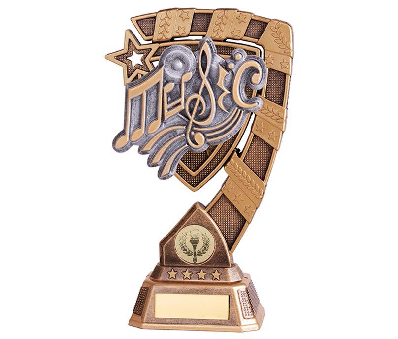 "Euphoria Music Trophy 21cm (8.25"")"