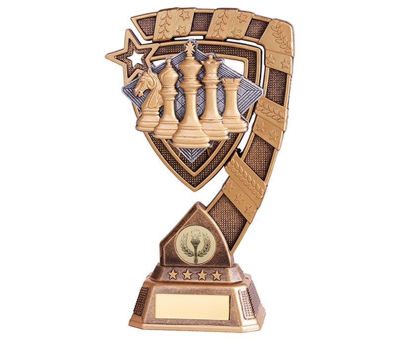 """Euphoria Chess Trophy 21cm (8.25"""")"""