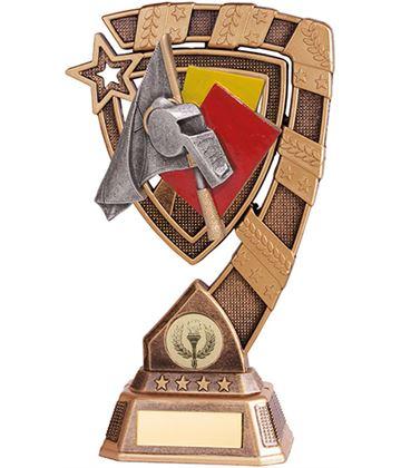 "Euphoria Referee Football Trophy 15cm (6"")"