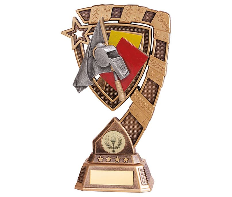 "Euphoria Referee Football Trophy 13cm (5"")"