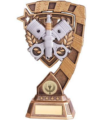 """Euphoria Motorsport Piston Trophy 18cm (7"""")"""