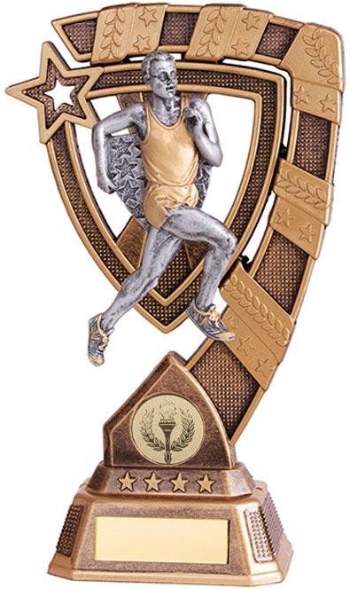 "Euphoria Male Running Trophy 15cm (6"")"