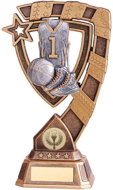 "Euphoria Basketball Trophy 15cm (6"")"