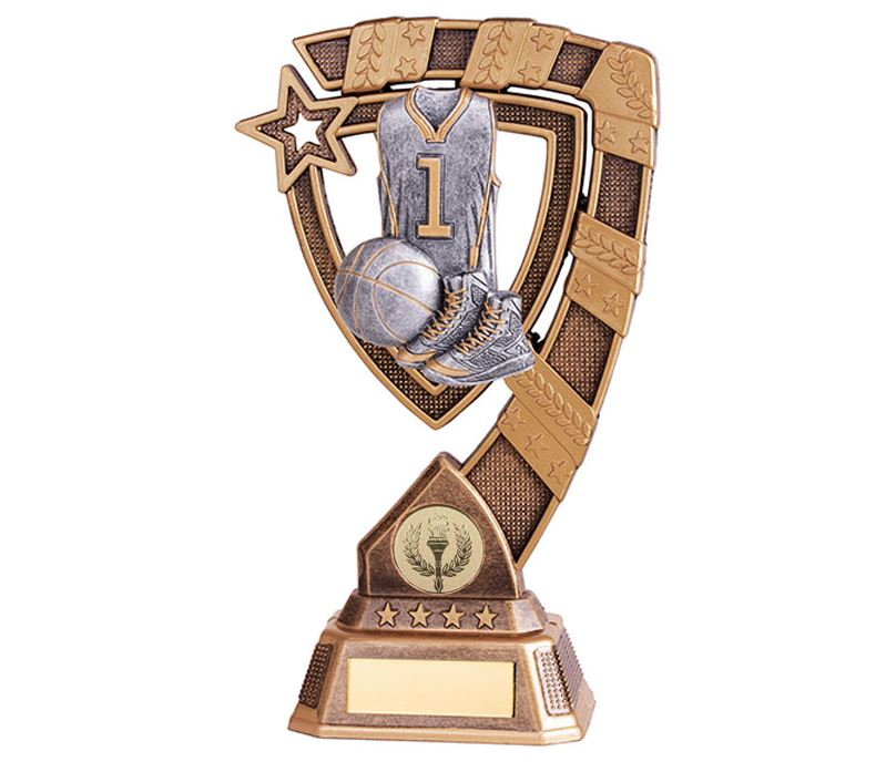 "Euphoria Basketball Trophy 18cm (7"")"