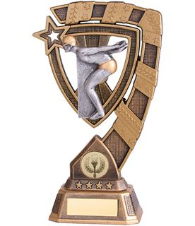 "Euphoria Male Swimming Trophy 18cm (7"")"