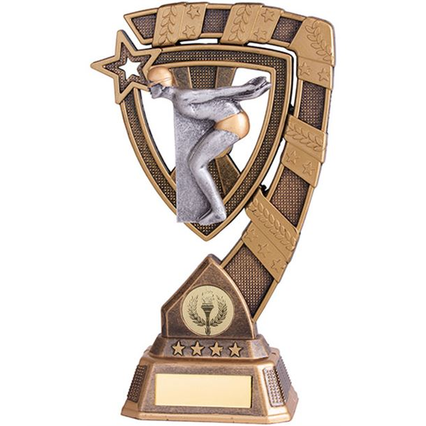 "Euphoria Male Swimming Trophy 13cm (5"")"