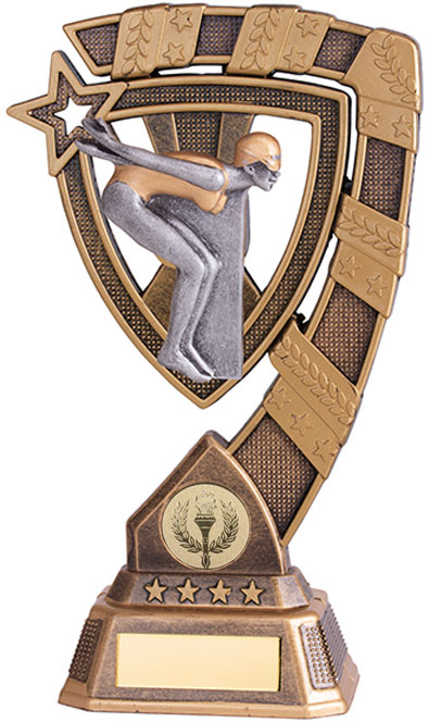 "Euphoria Female Swimming Trophy 13cm (5"")"