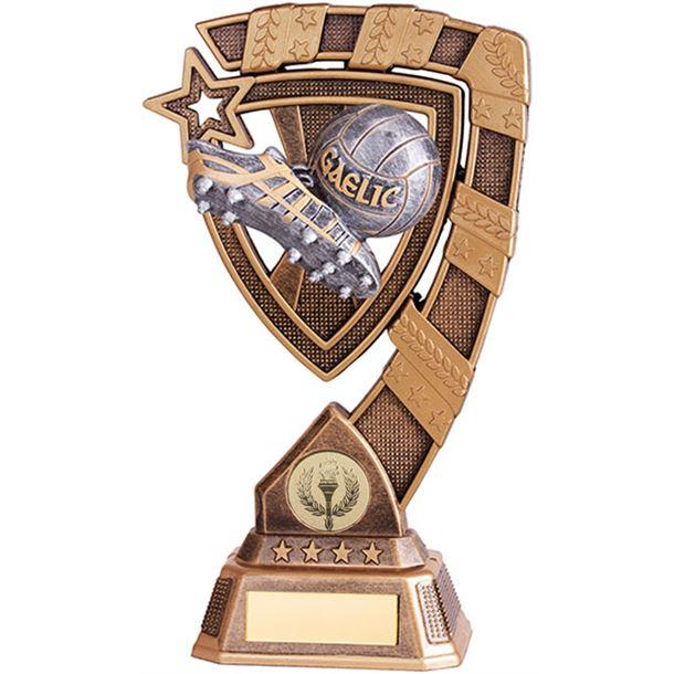 "Euphoria GAA Boot & Ball Trophy 13cm (5"")"