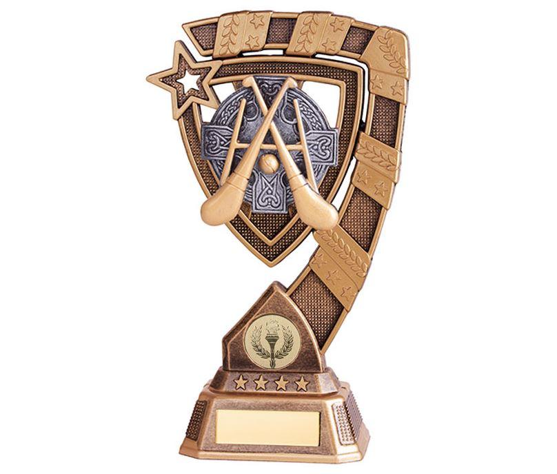 """Euphoria GAA Hurling Trophy 18cm (7"""")"""