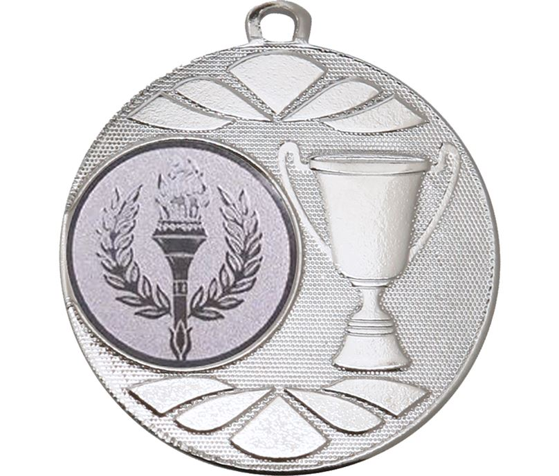"""Multi Award Trophy Cup Medal Silver 50mm (2"""")"""