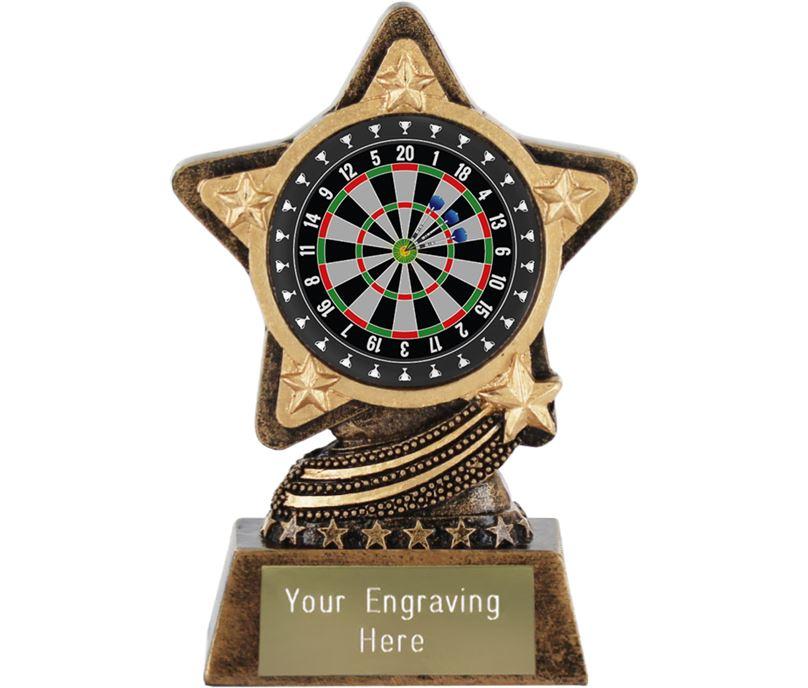 """Darts Trophy by Infinity Stars 10cm (4"""")"""