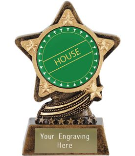 """Green House Trophy by Infinity Stars 10cm (4"""")"""
