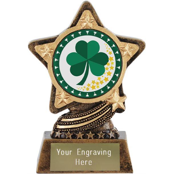 """Irish Trophy by Infinity Stars 10cm (4"""")"""