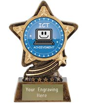 "ICT Trophy by Infinity Stars 10cm (4"")"
