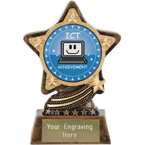 "ICT Trophy by Infinity Stars 10cm (4"")"