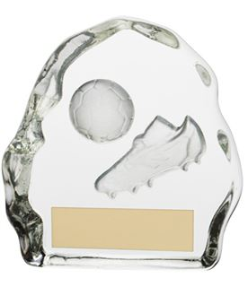 "Football Glass Sub Zero Award 7.5cm (3"")"