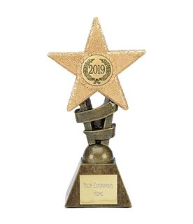 "2019 Multi Award Star Trophy 14cm (5.5"")"