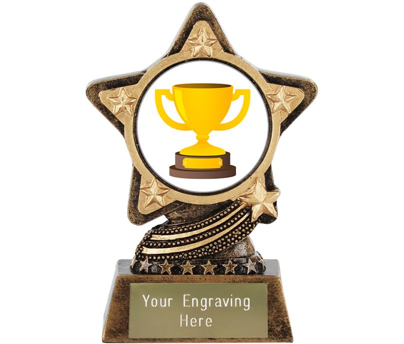 "Trophy Emoji Trophy by Infinity Stars 10cm (4"")"