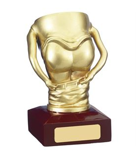 "Mooning Bottom Novelty Trophy 14cm (5.5"")"