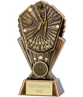 "Golf Nearest The Pin Cosmos Trophy 17.5cm (7"")"