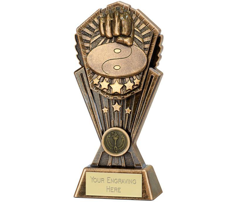 """Cosmos Martial Arts Trophy 20cm (8"""")"""