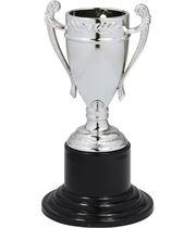 "Mini Trophy Cup Medal Silver 10cm (4"")"