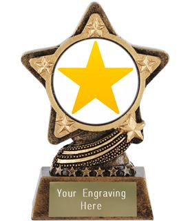 """Star Emoji Trophy by Infinity Stars 10cm (4"""")"""