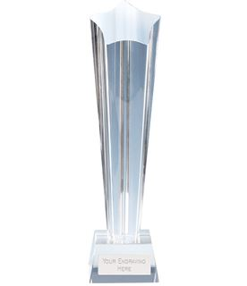 "Paramount Star Crystal Glass Award 20cm (8"")"