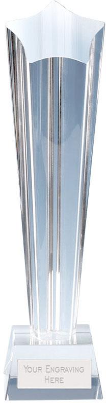 "Paramount Star Crystal Glass Award 20cm (8"")"