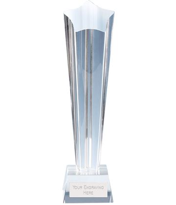 "Paramount Star Crystal Glass Award 26cm (10.25"")"
